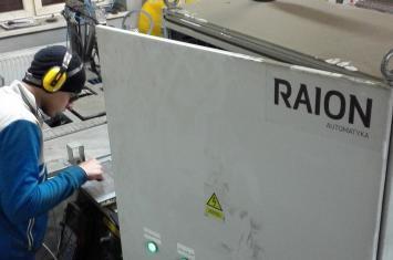 Automatyzacja linii do produkcji stopni schodowych - spawanie
